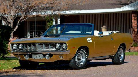 1971 Plymouth 'Cuda zu verkaufen